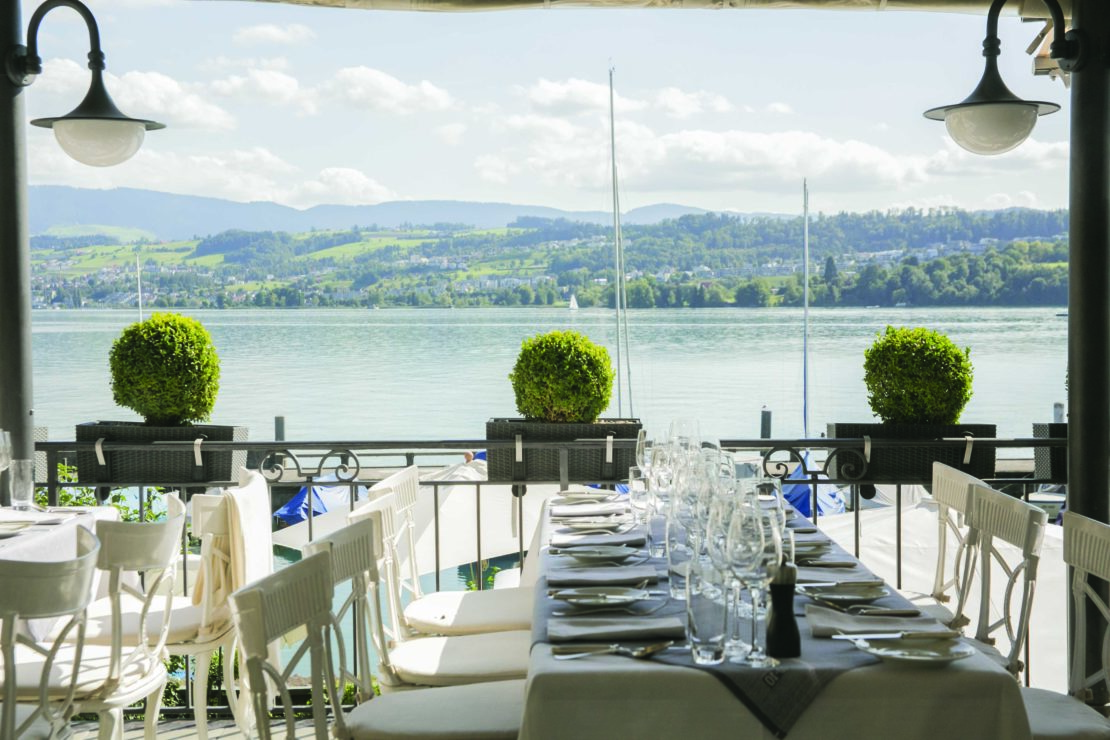 Business Lunch Am See